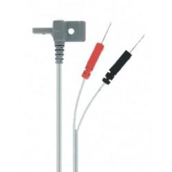 Câble Coudé pour CEFAR Primo Pro + Gamme ( la paire )Auluga Services – Matériel Médical