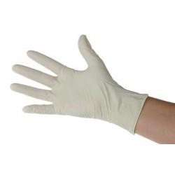 Gants latex poudrés tailles de  6 à 10 ( boite de 100 )Auluga Services – Matériel Médical