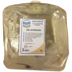 Gel Ultrason Bidon souple de 5 litres ( translucide )Auluga Services – Matériel Médical