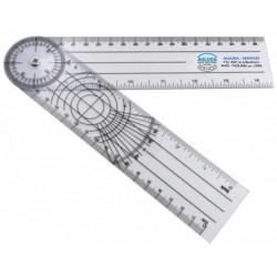 Goniomètre plastique 180 ° - 20 cmAuluga Services – Matériel Médical