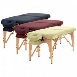 Table pliante ossature bois 3 couleursAuluga Services – Matériel Médical