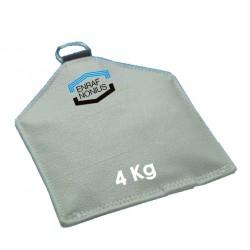 Sac de sable pour posture 4 Kg 25 x 35 cm Disponible seulement en gris .Auluga Services – Matériel Médical